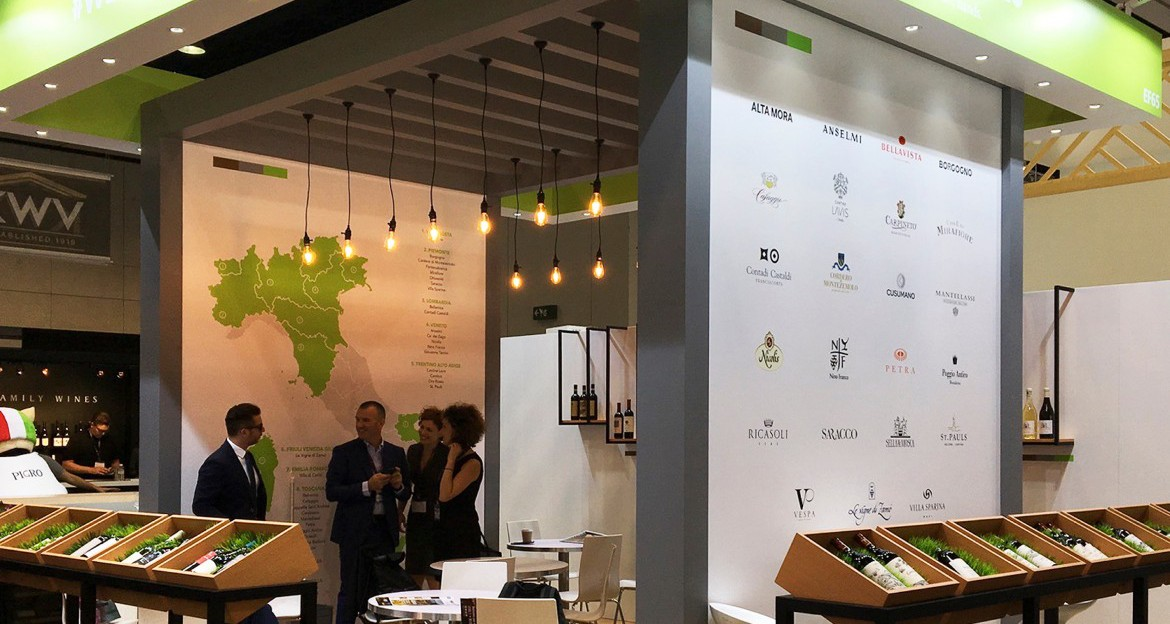 ethica wines stand